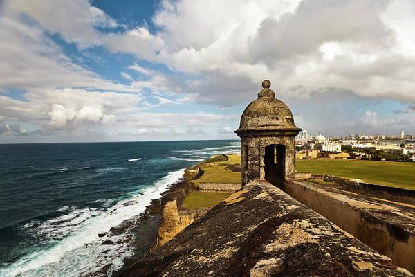 Puerto Rican Photograph - Castillo El Morro by Guvendemir