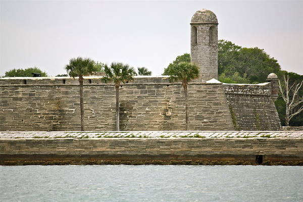 Matanzas Inlet Wall Art - Photograph - Castillo View by Valerie Tull