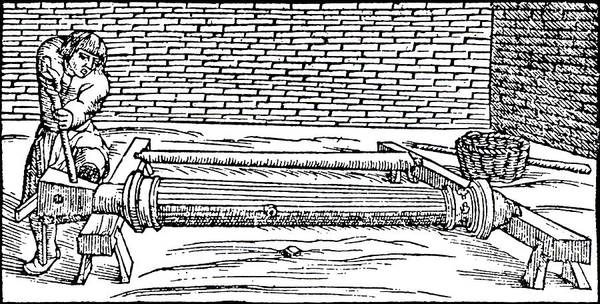 Armament Photograph - Casting Gun Barrels by Universal History Archive/uig