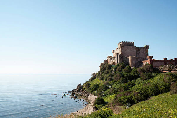 Sicily Photograph - Castle At Sea by Johner Images