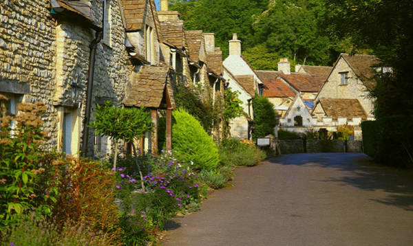 Photograph - Castle Combe Village Street by Michael Hope