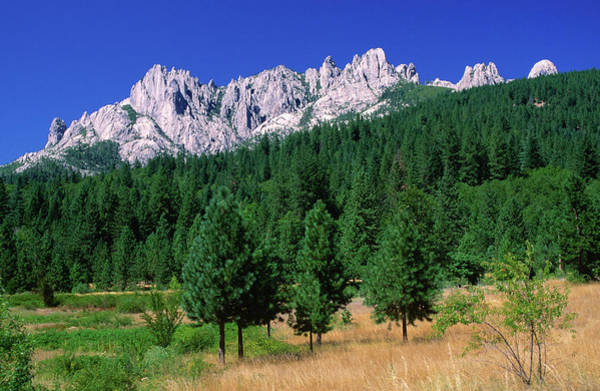 Toughness Photograph - Castle Crags From South by John Elk