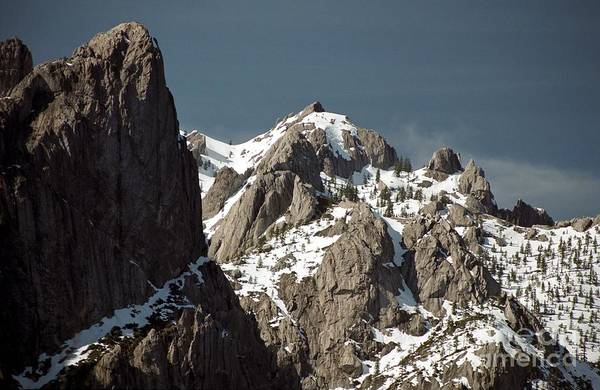 Photograph - Castle Crags by James B Toy
