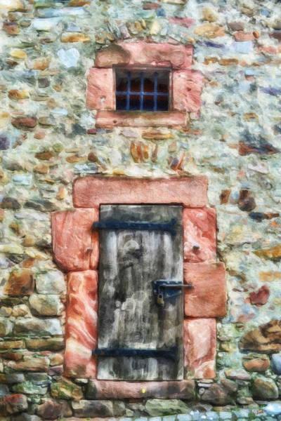 Painting - Castle Door Ger1765 by Dean Wittle
