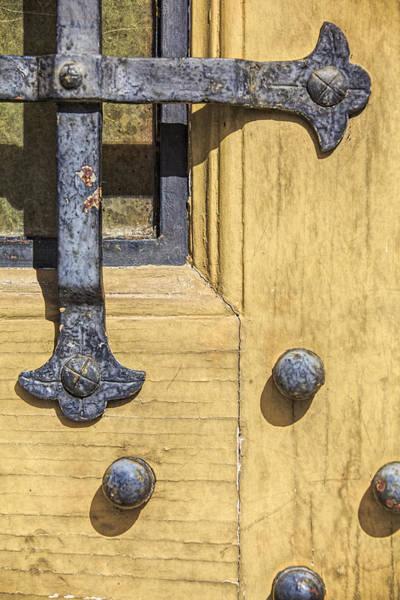 Photograph - Castle Door IIi by David Letts