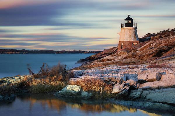 Narragansett Photograph - Castle Hill Lighthouse by By Yuri Kriventsov
