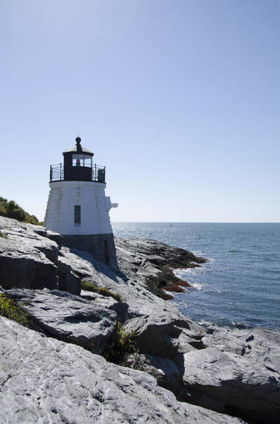 Photograph - Castle Hill Lighthouse - Newport Ri by Bill Cannon