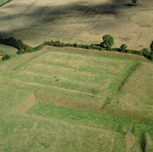 Wall Art - Photograph - Castle Hill Medieval Earthworks by Skyscan/science Photo Library