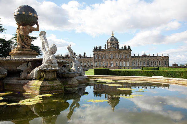 Selective Focus Photograph - Castle Howard From The South With by Karl Blackwell