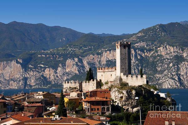 Photograph - Castle In The Italian Lakes by Brenda Kean