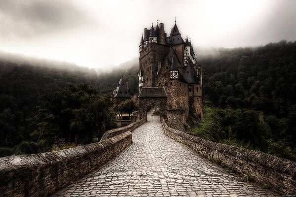 Castles Wall Art - Photograph - Castle In The Mist by Ryan Wyckoff