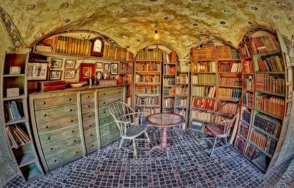 Photograph - Castle Map Room by Susan Candelario