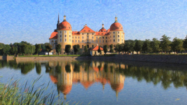 Painting - Castle Moritz Ger8429 by Dean Wittle