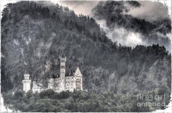 Photograph - Castle Neuschwanstein  by Heiko Koehrer-Wagner
