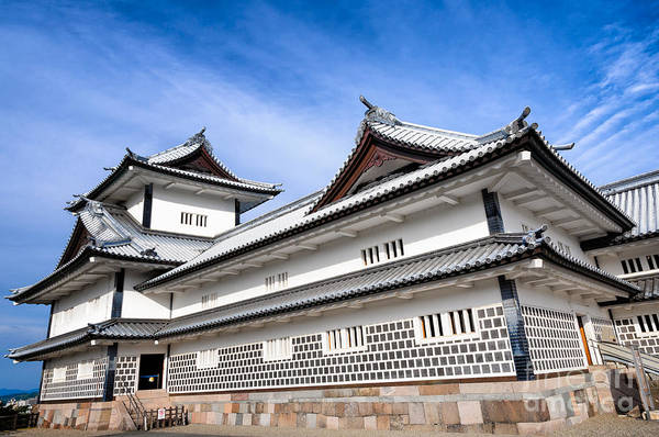 Photograph - Castle Of Japan by David Hill
