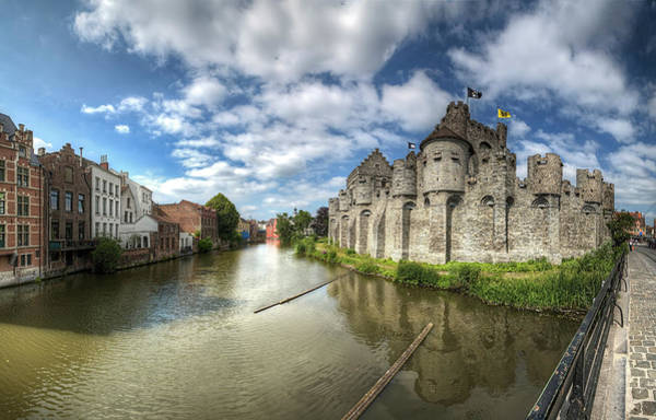 Wall Art - Photograph - Castle Of The Counts, Ghent by Erlend Robaye - Erroba