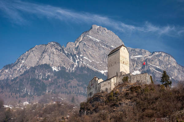 Photograph - Castle On A Hill In Switzerland by Pierre Leclerc Photography