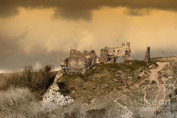 Photograph - Castle Ruins  by Paul Cowan