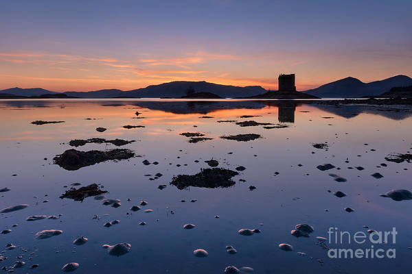Wall Art - Photograph - Loch Laich And Castle Stalker by Rod McLean