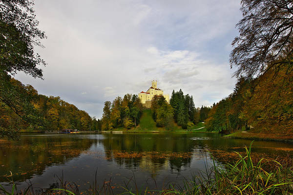 Photograph - Castle Trakoscan In Autumn by Ivan Slosar