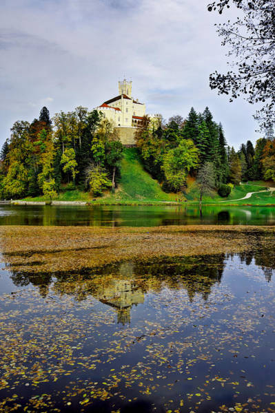 Photograph - Castle Trakoscan Vertical by Ivan Slosar