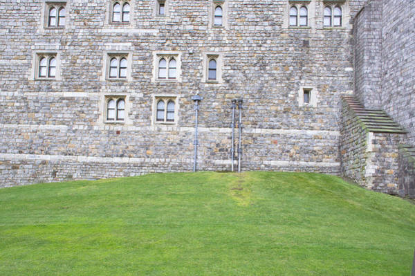 Fortification Photograph - Castle Wall by Tom Gowanlock