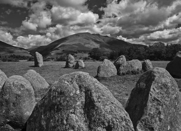 Wall Art - Photograph - Castlerigg Stone Circle by Graham Moore