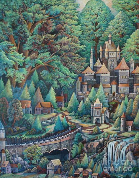 Painting - Castles by Greg Reichert