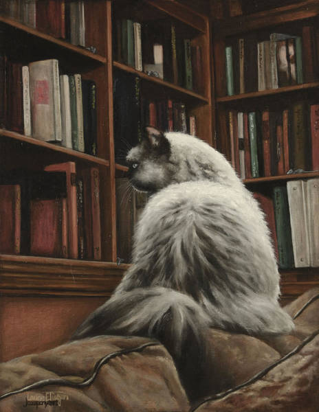 Painting - Cat And Mouse Games by Laurie Tietjen