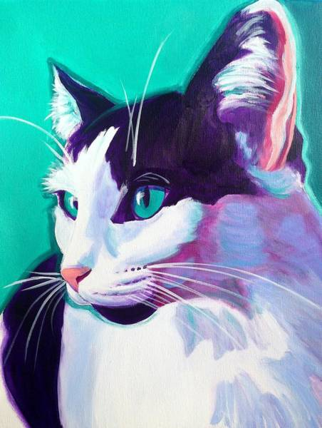Painting - Cat - Kitty by Alicia VanNoy Call