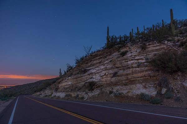 Photograph - Catalina Highway Twilight by Chris Bordeleau