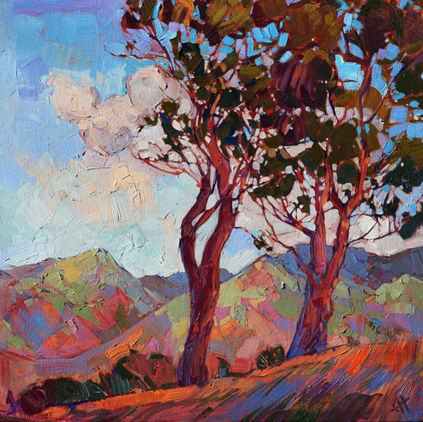 Wall Art - Painting - Catalina Hills by Erin Hanson