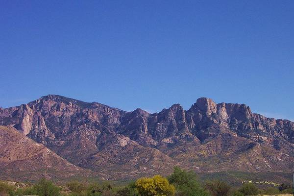 Photograph - Catalina Mountains by R B Harper