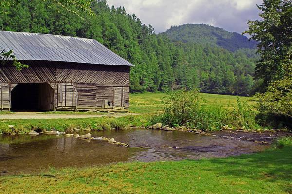 Photograph - Cataloochee Barn by Jennifer Robin