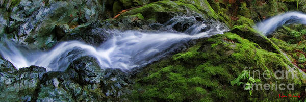 Photograph - Cataracts Canyon Water On Rocks by Blake Richards