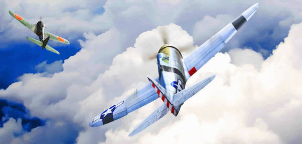 Junkers Digital Art - Catch Me If You Can by Don Kuing