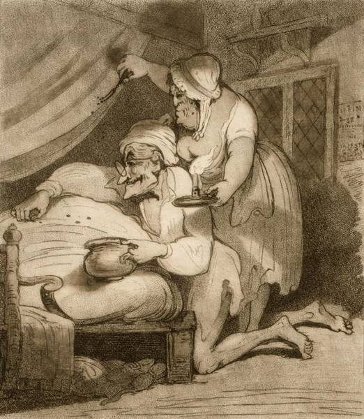 Photograph - Catching Bedbugs, 18th Century by Science Photo Library