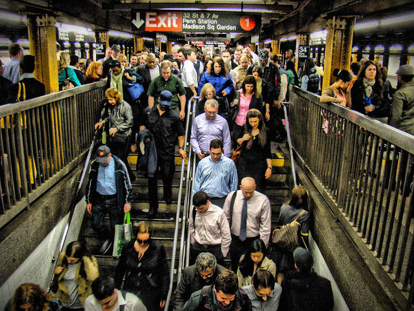Photograph - Catching The Subway by Alice Gipson
