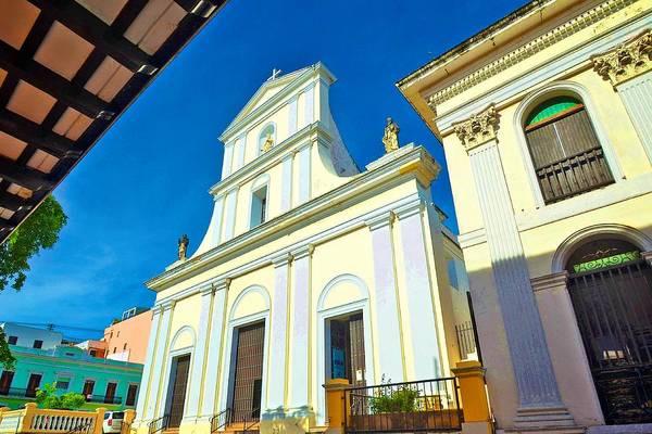Photograph - Catedral Basilica Menor San Juan Bautista by Ricardo J Ruiz de Porras