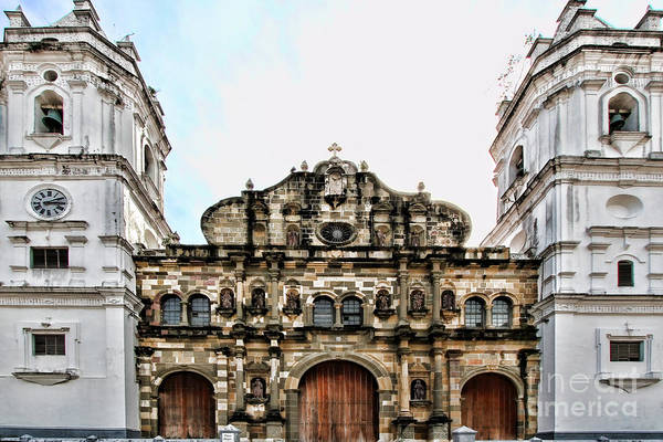 Photograph - Catedral Metropolitana By Diana Sainz by Diana Raquel Sainz