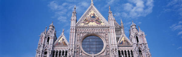 Elevation Photograph - Catedrale Di Santa Maria, Sienna, Italy by Panoramic Images