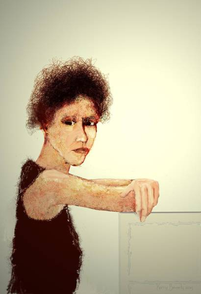 Digital Art - Cathaleen by Brandy Beverly