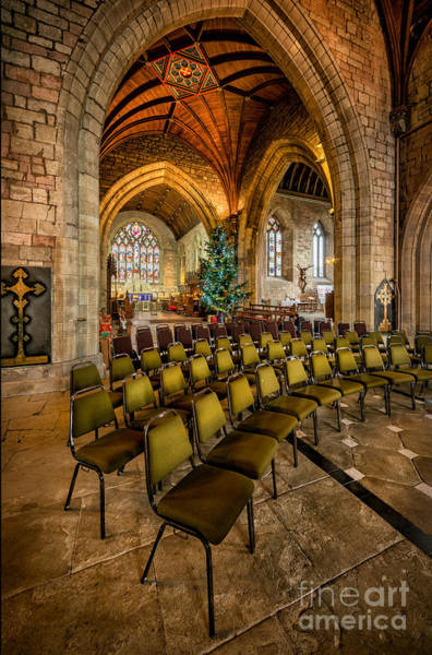 Wall Art - Photograph - Cathedral Christmas by Adrian Evans