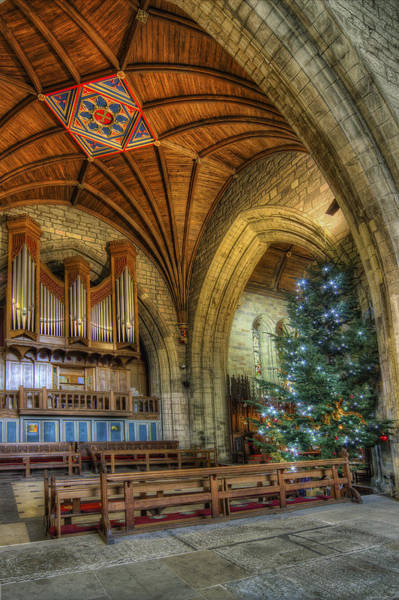 Photograph - Cathedral Christmas by Ian Mitchell