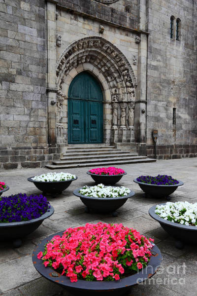 Photograph - Cathedral Entrance Viana Do Castelo by James Brunker