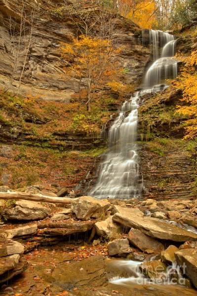 Photograph - Cathedral Falls by Adam Jewell