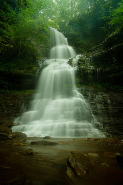 West Virginia Photograph - Cathedral Falls by Shane Holsclaw