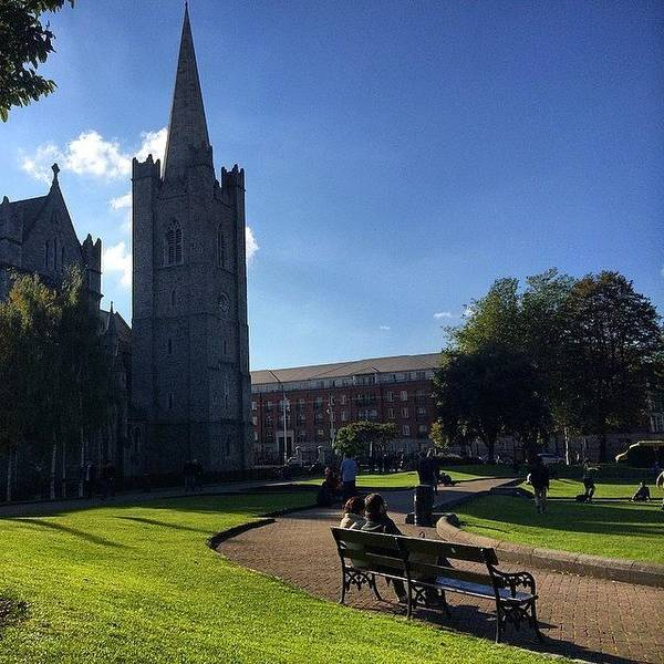 Japan Photograph - #cathedral In #dublin #ireland by Ryoji Japan