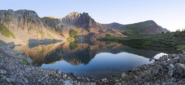 Wall Art - Photograph - Cathedral Lake Reflection by Aaron Spong