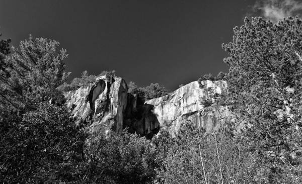 Photograph - Cathedral Ledge by Nancy De Flon